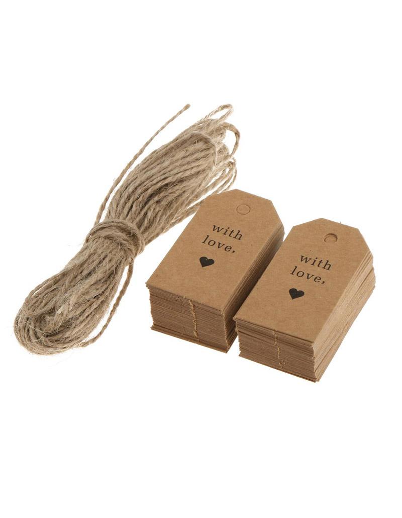 Mác sản phẩm giấy kraft, tag sản phẩm, in tag kraft, giấy kraft, price tag.