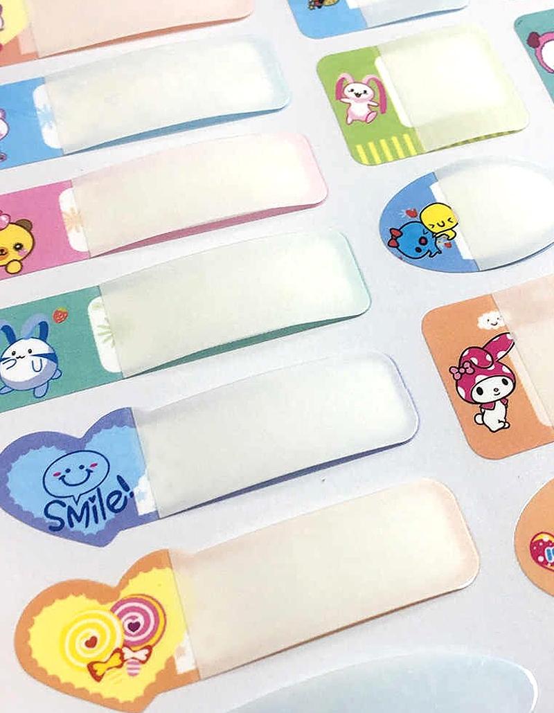 Nhãn tên cho bé, sticker dán, decal dán, in decal giá rẻ, nhãn dán học tập