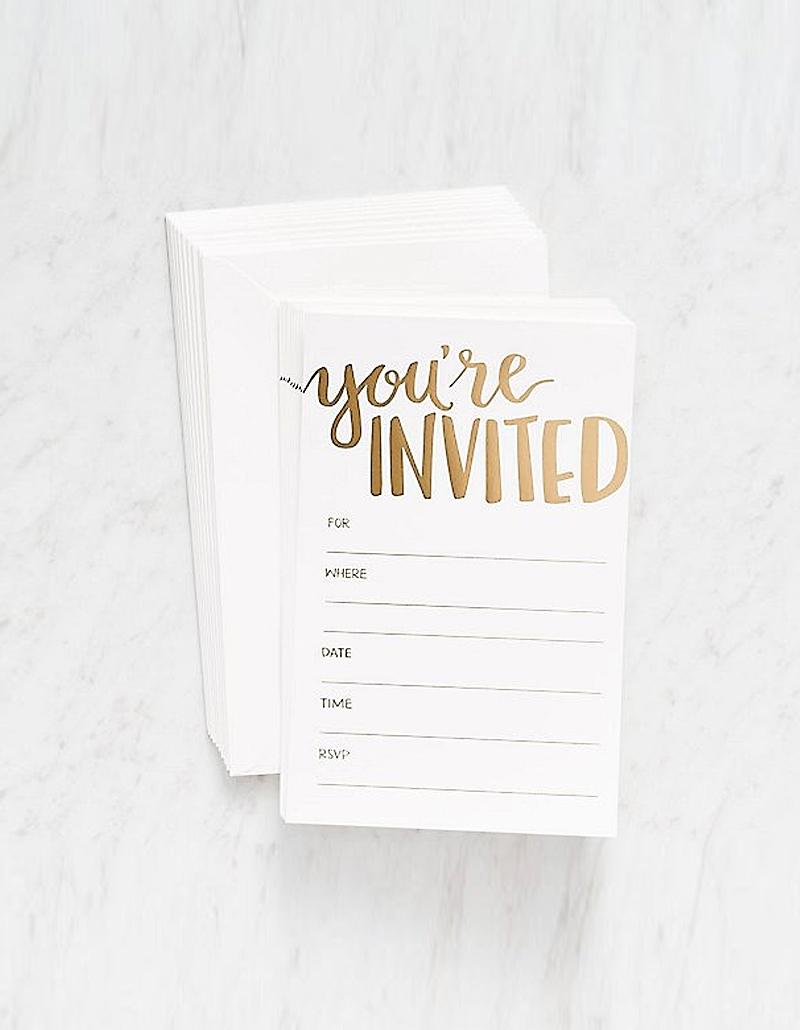 Thiệp mời cơ bản