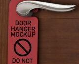 Tag treo cửa, thẻ treo cửa phòng, treo cửa, tag treo phòng, tag