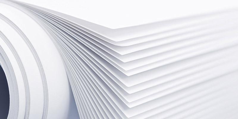 các loại giấy phổ biến trong in ấn