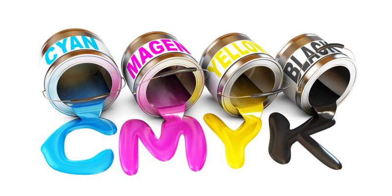 Hệ 4 Màu CMYK trong in ấn