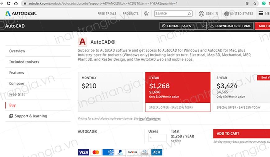 Autocad là phần mềm đồ họa