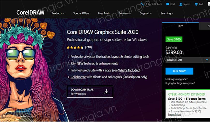 CorelDRAWlà một phần mềm biên tập