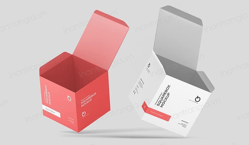 Các loại bao bì hộp giấy phổ biến hiện nay