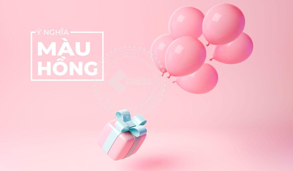 Ý nghĩa màu hồng trong thiết kế
